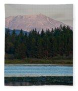 Mount St. Helens Fleece Blanket