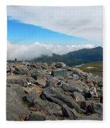 Mount Washington Observatory Fleece Blanket