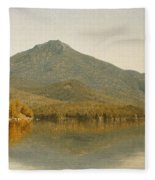Mount Whiteface From Lake Placid Fleece Blanket