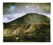 Mount Zeehan Tasmania Fleece Blanket