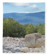 Mountain Air Fleece Blanket