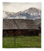 Mountain Barn Fleece Blanket