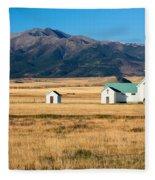 Mountain Chapel Fleece Blanket
