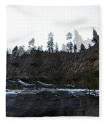 Mountain Dreaming  Fleece Blanket
