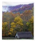 Mountain Farm Fleece Blanket