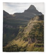 Mountain Glacier Fleece Blanket