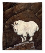 Mountain Goat Fleece Blanket