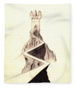 Mountain Keep Fleece Blanket
