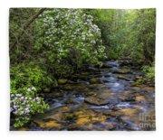 Mountain Laurels Light Up Panther Creek Fleece Blanket