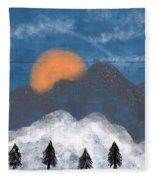 Mountain Fleece Blanket
