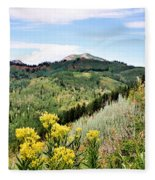 Mountain Meadows Fleece Blanket