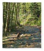 Mountain Road Fleece Blanket