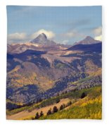 Mountain Splendor 2 Fleece Blanket