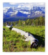 Mountain Splendor Fleece Blanket