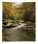 Mountain Stream 2 Fleece Blanket