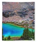Mountain Tarn Fleece Blanket