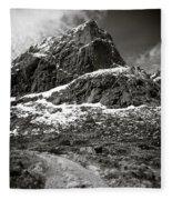 Mountain Track Fleece Blanket