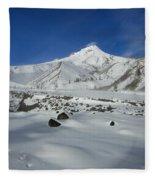 Mountain Tracks Fleece Blanket