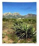 Mountain View Las Cruces Fleece Blanket