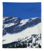 Mountains Covered With Snow, Little Fleece Blanket