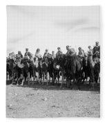 Mounted Guard, 1921 Fleece Blanket