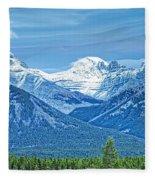 Mounts Inglismaldie And Girouard Fleece Blanket