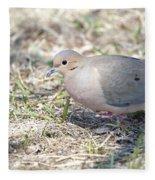 Mourning Dove 2 Fleece Blanket