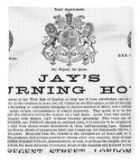 Mourning House, 1891 Fleece Blanket