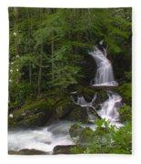 Mouse Creek Falls Fleece Blanket