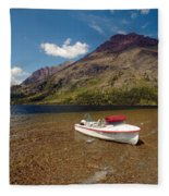 Moutain Lake Fleece Blanket