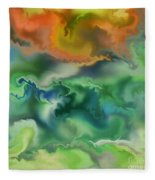 Movement Of The Natural World Fleece Blanket