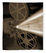 Movie Projector  Fleece Blanket