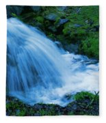 Moving Water Can Move Your Soul Fleece Blanket