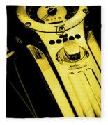 Mph Yellow 5485 G_3 Fleece Blanket