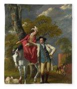 Mr And Mrs Thomas Coltman Fleece Blanket