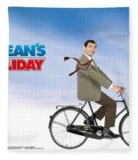 Mr. Bean Fleece Blanket