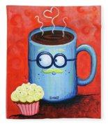 Mr. Coffee Fleece Blanket