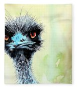 Mr. Grumpy Fleece Blanket
