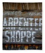 Mr. Sawyer Wood Fleece Blanket