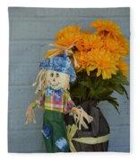 Mr Scarecrow Fleece Blanket