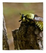 Mrs. Fly Fleece Blanket