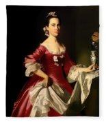 Mrs George Watson Fleece Blanket