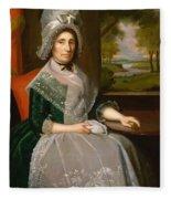 Mrs Richard Alsop 1792 Fleece Blanket