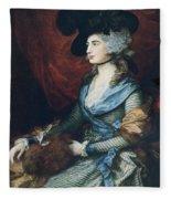 Mrs Siddons. British Actress Sarah Fleece Blanket