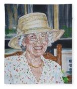 Mrs Spencer Fleece Blanket