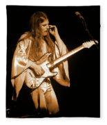 Mrsea #48 Enhanced In Amber Fleece Blanket
