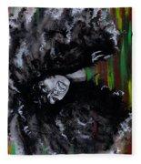 Ms Erykah Badu To You Fool Fleece Blanket