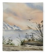 Mt. Baker Cascade Coast Fleece Blanket