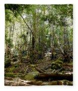 Mt Field Forest Fleece Blanket