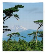 Mt. Fuji ... Fleece Blanket